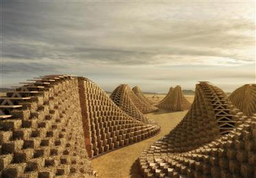 Straw Bale School in Africa by Nudes 01.jpg